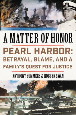 Matter of Honor by Anthony Summers