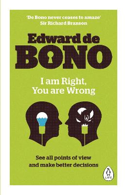 I Am Right, You Are Wrong book