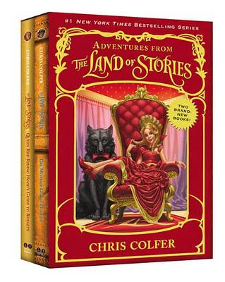 Adventures from the Land of Stories Set by Chris Colfer