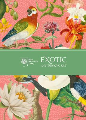 RHS Exotic Notebook Set by Royal Horticultural Society