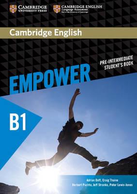Cambridge English Empower Pre-Intermediate Student's Book by Adrian Doff