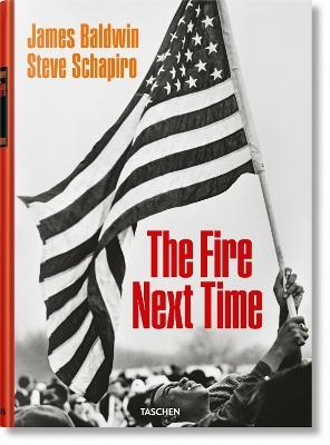 James Baldwin. Steve Schapiro. The Fire Next Time book