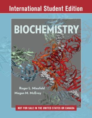 Biochemistry by Roger L. Miesfeld
