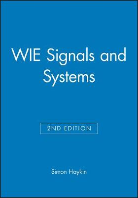 WIE Signals and Systems by Simon Haykin