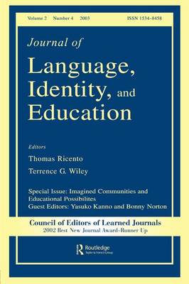 Imagined Communities and Educational Possibilities book