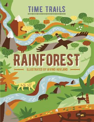 Graphic Timelines: Rainforest book