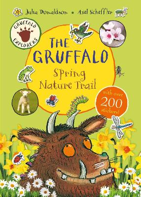 The Gruffalo Explorers: The Gruffalo Spring Nature Trail by Julia Donaldson