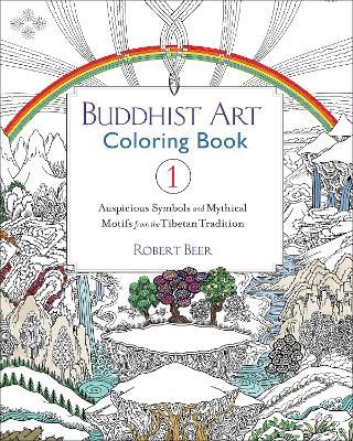 Buddhist Art Coloring Book book