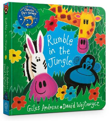 Rumble in the Jungle Board Book by Giles Andreae