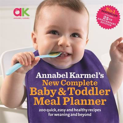 New Complete Baby & Toddler Meal Planner book