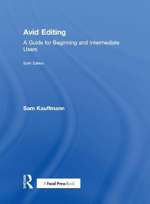 Avid Editing book