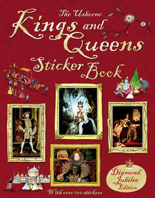 Kings and Queens Sticker Book by Katie Davies