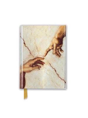 Michelangelo: Creation Hands (Foiled Pocket Journal) by Flame Tree Studio