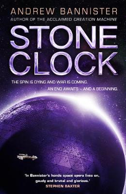 Stone Clock by Andrew Bannister