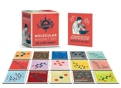 IFLScience Molecular Magnet Set: Say It With Science! by Paul Parsons