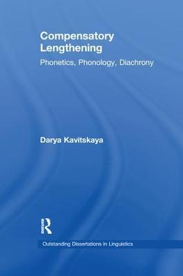 Compensatory Lengthening by Darya Kavitskaya