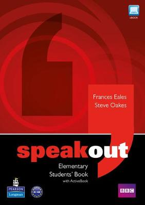 Speakout Elementary Students' Book for DVD/Active Book Multi Rom pack by Frances Eales