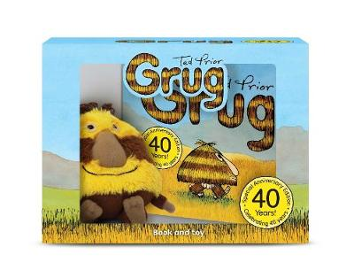 Grug 40th Anniversary Celebration Book and Plush Box by Ted Prior