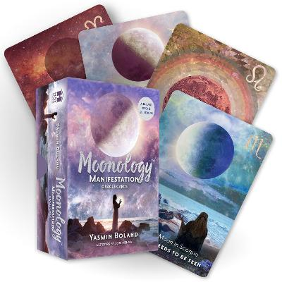 Moonology (TM) Manifestation Oracle: A 48-Card Deck and Guidebook book