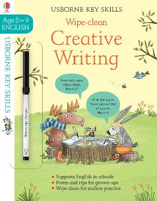 Wipe-Clean Creative Writing 8-9 book