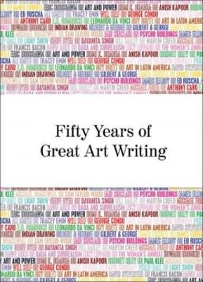 Fifty Years of Great Art Writing by Professor Michael Fried