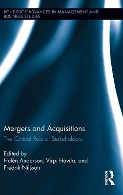 Mergers and Acquisitions by Helen Anderson