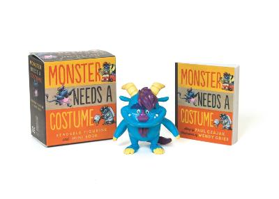 Monster Needs a Costume Bendable Figurine and Mini Book by Paul Czajak