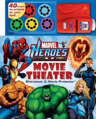 Marvel Heroes Movie Theatre by Prof Michael Teitelbaum