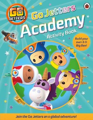 Go Jetters Academy Activity Book book