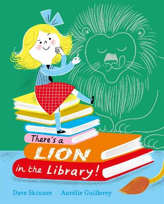 There's a Lion in the Library! book