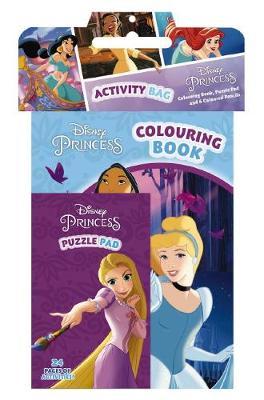 DISNEY PRINCESS ACTIVITY BAG book