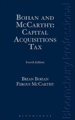 Bohan and McCarthy: Capital Acquisitions Tax by Brian Bohan