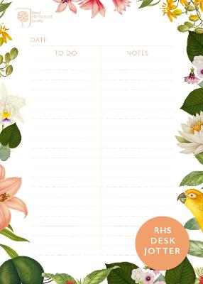 RHS Desk Jotter by Royal Horticultural Society