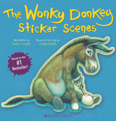 The Wonky Donkey Sticker Scenes by Craig Smith