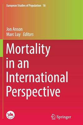 Mortality in an International Perspective by Jon Anson