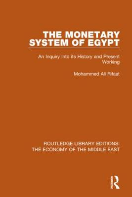 Monetary System of Egypt book