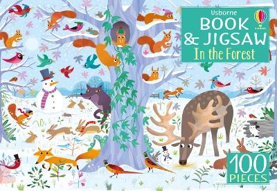 Usborne Book and Jigsaw: In the Forest by Kirsteen Robson