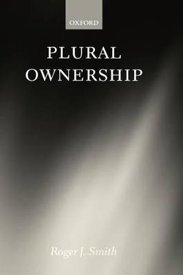 Plural Ownership book