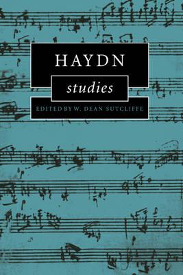 Haydn Studies by W. Dean Sutcliffe