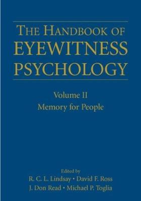 Handbook of Eyewitness Psychology by J. Don Read