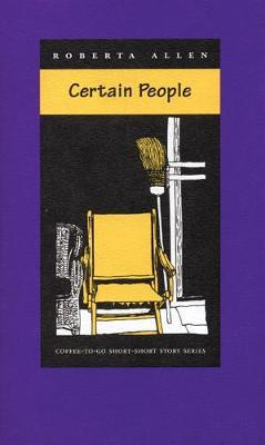 Certain People by Roberta Allen