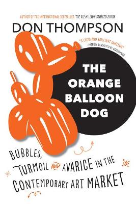 Orange Balloon Dog by Don Thompson