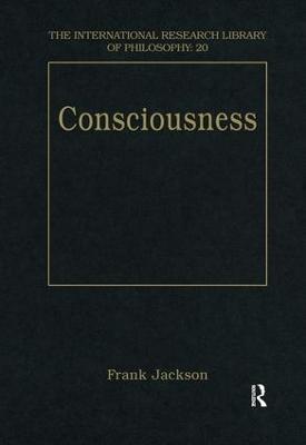 Consciousness by Frank Jackson