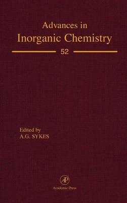 Advances in inorganic Chemistry by A. G. Sykes