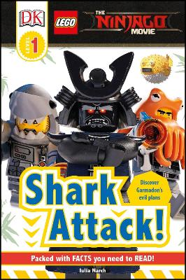LEGO (R) NINJAGO (R) Movie (TM) Shark Attack! by DK
