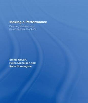 Making a Performance book