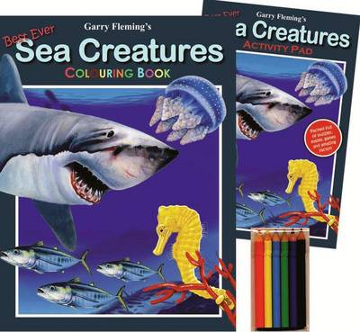 Garry Fleming's Sea Creatures Activity Pack by Garry Fleming