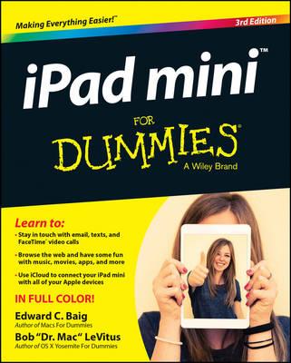 Ipad Mini for Dummies, 3rd Edition by Edward C. Baig