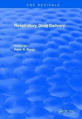 Respiratory Drug Delivery (1989) by Peter R. Byron