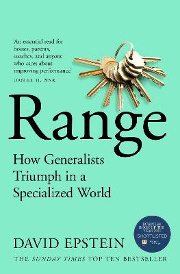 Range: The Key to Success, Performance and Education by David Epstein